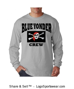 Blue Yonder Crew Long Sleeve Design Zoom